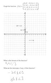 graphing a step function students are asked to graph a step