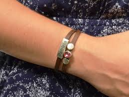 custom birthstone bracelets new gift personalized birthstone bracelet birthday bracelet