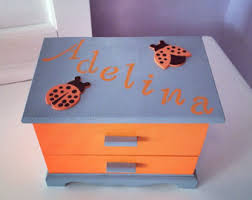 girl jewelry box personalized child jewelry box etsy