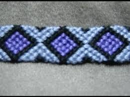 diamond bracelet friendship images Friendship bracelet tutorial intermediate diamonds jpg