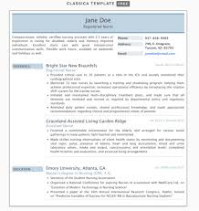 Resume For A Nursing Assistant The 17 Best Resume Templates Fairygodboss