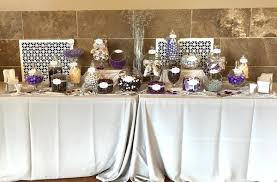 purple and silver wedding purple silver wedding candy buffet great service fresh candy