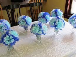blue baby shower decorations baby shower decoration ideas blue and high quality image