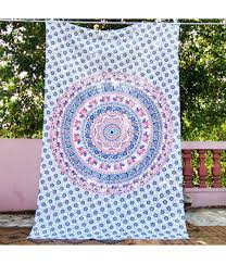indian hippie tapestry home decor wall hanging mandala bedspread