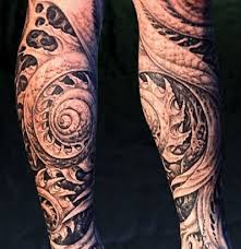 sleeve tattoo expressing yourself and covering your arm or leg in