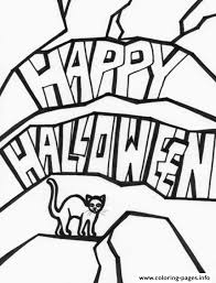 cat happy halloween kids print7cd9 coloring pages