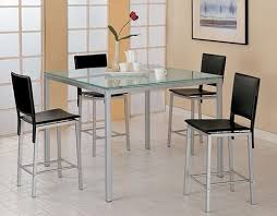 Kitchen Glass Table And Chairs Kitchen Table With Bench Glass - Kitchen glass table