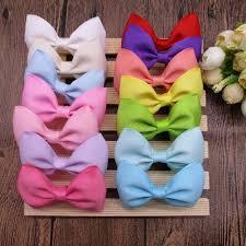 wholesale hair bows aliexpress buy wholesale 100pcs lot 3 boutique hair bows