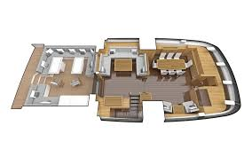 Yacht Floor Plan by Oyster 118 Oyster Yachts