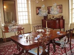 the dining room inside shirley plantation virginia i really like