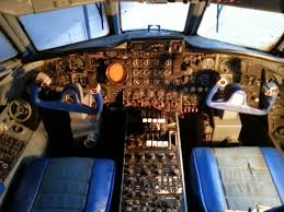 the cockpit of hound dog ii a lockheed jetstar owned by elvis on