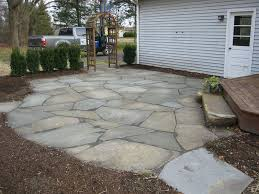 Patio Flagstone Designs Yard Flagstone Patio Optimizing Home Decor Ideas Spectacular