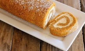lovely little kitchen pumpkin roll with maple cream cheese filling lovely little kitchen