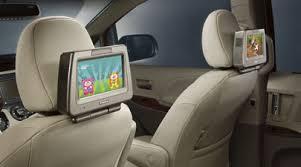 toyota highlander dvd headrest toyota highlander rear seat entertainment