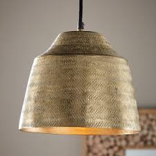 Metal Pendant Light Fixtures Basket Weave Aluminum Pendant Light Vivaterra