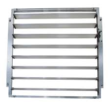 Palram Hybrid Greenhouse Palram Side Louvre Window Silver For Greenhouses 702083 The Home