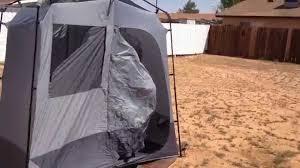 Outdoor Shower Enclosure Camping - ozark trails shower tent youtube