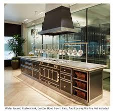 la cornue kitchen designs la cornue chateau 120 dual fuel range island chateau120ile