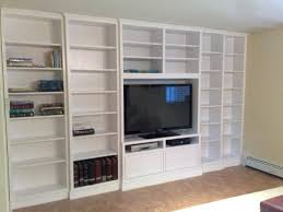 Wall Unit Bookshelves - built in wall units built in electric fireplace design ideas