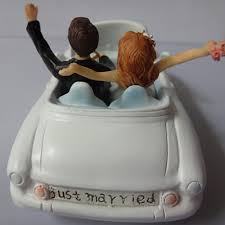 car wedding cake toppers car groom and cake toppers ewft017 as low as 35