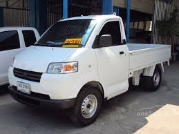 suzuki pickup truck suzuki carry 2008 mini truck 1 6 in ภาคเหน อ manual pickup ส ขาว for