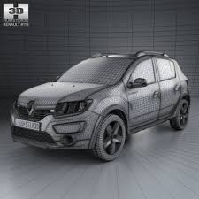renault congo renault sandero stepway br ru 2014 vehicles creative market