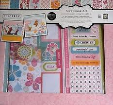colorbok scrapbook colorbok scrapbook kit happy go lucky be ebay