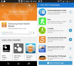 switching from android to iphone how to use samsung s smart switch to move to a galaxy smartphone
