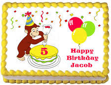 curious george birthday cake curious george cake decorations ebay