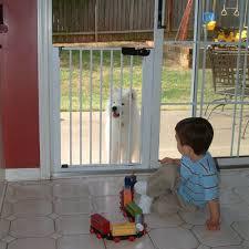 Patio Door Gate Cardinal Gates Lock N Block Sliding Door Gate Walmart