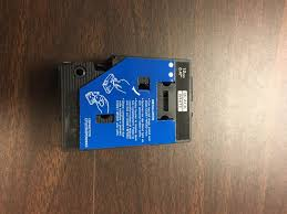 how to install brother p touch tape brother tc20 1 2 black on white p touch tape cassette 1 pack