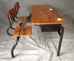 bureau d 馗olier ancien en bois 1 place 11 unique bureau d écolier ancien en bois 1 place images zeen