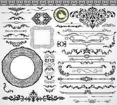 illustrator ornament brush border free vector 218 434