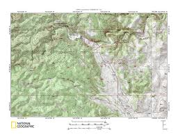 Raccoon Creek State Park Map by Battle Creek French Creek Drainage Divide Area Landform Origins