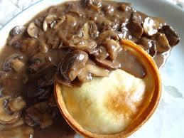 easy mushroom gravy recipe by mushroom sauce wikipedia