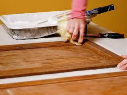 painted kitchen cabinets with stained doors how to paint kitchen cabinets how tos diy
