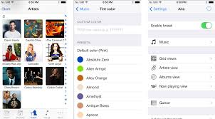 7 Apps To Help Organize Your Life by Aria For Jailbreak Makes The Ios 7 Music App Come To Life Imore