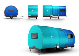 Teardrop Camper With Bathroom 3x An Innovative Expandable Teardrop Trailer By Beauer