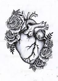 heart flower tattoo flowers ideas for review
