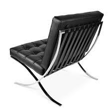 sedia barcellona sedia barcelona half leather mobili di design sedie di design e