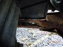 05 spectra5 with badly rotted subframe kia forum