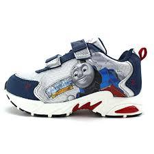 thomas the train light up shoes amazon com thomas the tank engine train kids light up sneakers