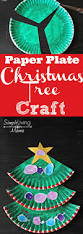 paper plate christmas tree craft tree crafts diy paper and