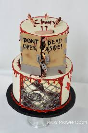 walking dead cake ideas walking dead cakes