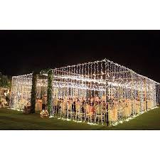 outdoor party tent lighting t e n t w e d d i n g filled with fairy lights bali wedding
