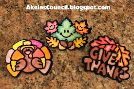 fall or thanksgiving neckerchief slide idea this site has a lot of