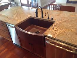 front flat ends farmhouse sink copper sinks online