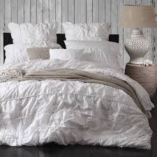 white quilt cover set by private collection