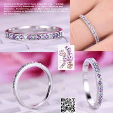 white eternity rings images 279 amethyst alexandrite wedding band half eternity anniversary jpg