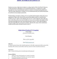 How To Make A Really Good Resume How To Make A Student Resume Template Billybullock Us